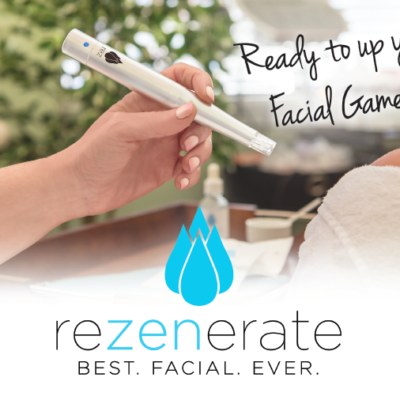 The Rezenerate (Nano Facial): The ReZENerate painlessly creates hundreds of thousands of superficial microscopic permeations on the surface of the skin, leading to an immediate plumpness. Its also allows for greater absorption of the nutrients introduced into the skin. You can expect to see amazing results with a series of treatments.